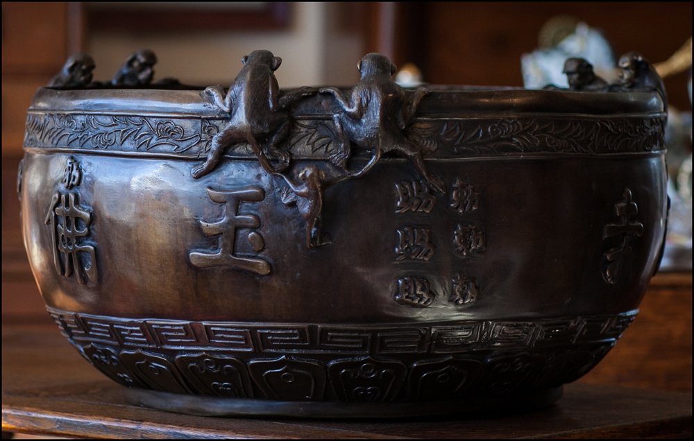 Bronze Monkey Bowl 1000px