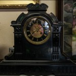 "French Marble Clock - H18"" x W20"""