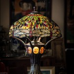 "Tiffany Style Lamp - H29"" x W19"""